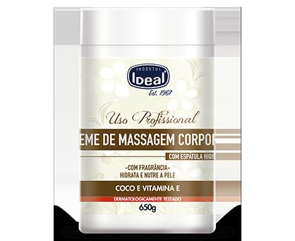 Creme de Massagem Corporal - Coco e Vitamina E