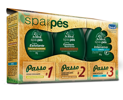 Kit SPA dos Pés